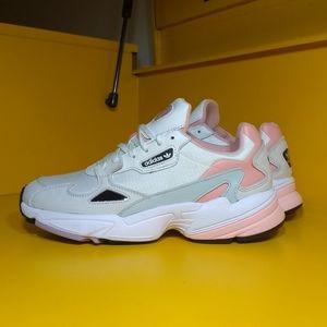 NEW Adidas Falcon Pink White Size 9.5 Women's